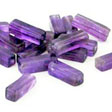 AMETHYST GEMSTONE BEADS - RECTANGLE BEADS 13X4MM