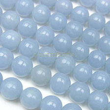ANGELITE  BLUE - ROUND 6MM