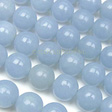 ANGELITE  BLUE - ROUND 8MM