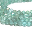 APATITE BLUE - FACETED RONDELL 3x4MM