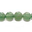 AVENTURINE GEMSTONE BEADS - FACETED ROUND 12MM