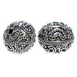 Kralen Bali Zilver Sterling 925, Soft Indian Heart 13x12mm