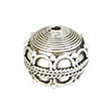 Kralen Bali Zilver Sterling 925, Inner Circle 13,5x13mm