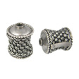Beads Bali Silver Sterling 925, Bead Diabolo 14x10mm