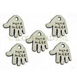 CHARMS HANDMADE - SILVER PLATED CHARM 12.5MM