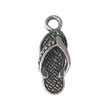SILVER CHARM SLIPPER -  STERLING SILVER