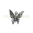 SILVER CHARMS BUTTERFLY - 14MM STERLING SILVER