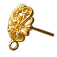GOLD FILLED GOLDEN EARRING HOOKS & POSTS