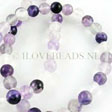 FLUORITE BEADS - GEMSTONE BEADS ROUND 8MM