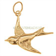 GOLD FILLED CHARMS SPARROW - 19MM