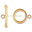 GOLDEN CLASPS - GOLD FILLED TOGGLE CLASP 12MM!