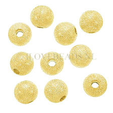 GOLDEN BEADS – 14K GOLD FILLED STARDUST BEAD 6MM