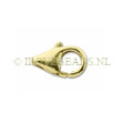 GOLDEN CLASPS - GOLDFILLED LOBSTER CLASP 12MM
