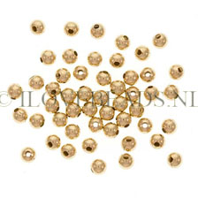 GOLDEN BEADS - GOLD FILLED BEAD ROUND 2.5MM