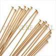GOLDEN HEADPINS - HEADPIN GOLDFILLED 24 GAUGE 2 INCH