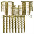 22K GOLD PLATED HAIRCOMBS TO DECORATE