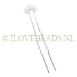 HAIRPINS, SILVER PLATED HAIRPIN