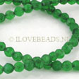 JADE GEMSTONES BEADS - GREEN JADE FACETED BEADS 6MM