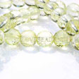 GEMSTONE BEADS LEMON QUARTZ