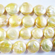 PEARLS BEADS – BIG COIN PEARL BEAD 12MM - GOLD