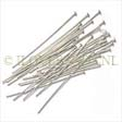 SILVER HEADPINS 925 STERLING SILVER - 26 GAUGE 1 INCH