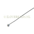 HEADPINS SILVER 925 STERLING, HEADPINS 2MM! BALL 5.4CM