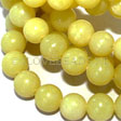 JADE GEMSTONES BEADS - OLIVE JADE BEADS 10MM
