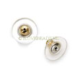 Gold Tone Metal Earring Backs - hypo-allergenic