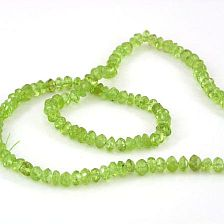 PERIDOT - FACET RONDELLEN 4.5MM