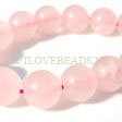 ROSE QUARTZ BEADS - ROUND 14MM