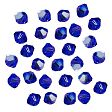 Swarovski Facet Bicone beads 4mm, Cobalt Blue AB Rare