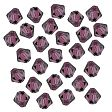 Swarovski Facet Bicone beads 4mm, Amethyst 5301