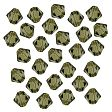 Swarovski Facet Bicone beads 4mm, Khaki