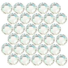 Swarovski Crystal Hotfix Beads, Round appr. 4.6mm Crystal Moonlight