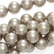 Swarovski ® Crystal 5810 – Round Pearl Beads 8mm Crystal Platinum