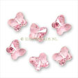 Swarovski ® Crystal Bead - 8mm Butterfly Light Rose
