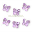 Swarovski ® Crystal Bead - 8mm Butterfly Violet