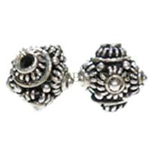 Bali 925 sterling zilveren kralen, Rich 11.5mm