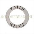 STERLING SILVER AFFIRMATION CHARM OR PENDANT - 21MM!