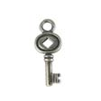 SILVER CHARM KEY -  STERLING SILVER