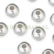 SILVER BEADS - STERLING SILVER 925 - BEADS 6MM