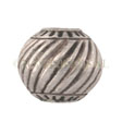 Silver Beads Thailand, Bead Diagonal 15x13mm