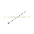 SILVER HEADPINS 925 STERLING, HEADPINS BALL 1 INCH