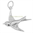 SILVER CHARMS SPARROW - 19MM STERLING SILVER